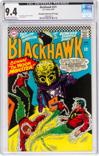Blackhawk #221 Murphy Anderson File Copy (DC, 1966) CGC NM 9.4 Off-white to white pages