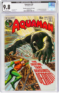 Aquaman #56 Murphy Anderson File Copy (DC, 1971) CGC NM/MT 9.8 Off-white pages