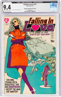 Falling in Love #121 Murphy Anderson File Copy (DC, 1971) CGC NM 9.4 Off-white to white pages
