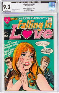 Falling in Love #119 Murphy Anderson File Copy (DC, 1970) CGC NM- 9.2 White pages