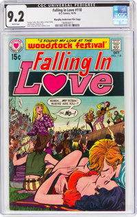 Falling in Love #118 Murphy Anderson File Copy (DC, 1970) CGC NM- 9.2 White pages