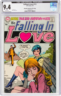 Falling in Love #113 Murphy Anderson File Copy (DC, 1970) CGC NM 9.4 White pages