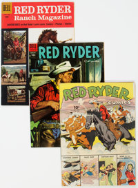 Red Ryder Comics Group of 27 (Dell, 1943-56) Condition: Average VG/FN.... (Total: 27 )