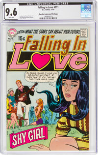 Falling in Love #111 Murphy Anderson File Copy (DC, 1969) CGC NM+ 9.6 White pages