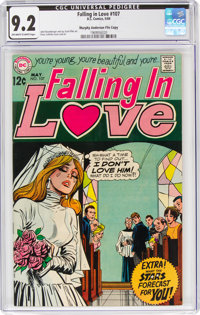 Falling in Love #107 Murphy Anderson File Copy (DC, 1969) CGC NM- 9.2 Off-white to white pages