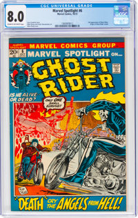 Marvel Spotlight #6 Ghost Rider (Marvel, 1972) CGC VF 8.0 Cream to off-white pages