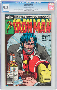 Iron Man #128 (Marvel, 1979) CGC NM/MT 9.8 Off-white to white pages