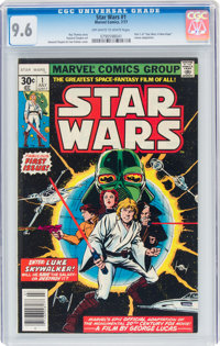 Star Wars #1 (Marvel, 1977) CGC NM+ 9.6 Off-white to white pages