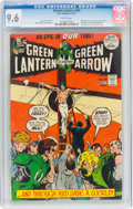 Bronze Age (1970-1979):Superhero, Green Lantern #89 (DC, 1972) CGC NM+ 9.6 White pages....