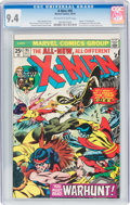 Bronze Age (1970-1979):Superhero, X-Men #95 (Marvel, 1975) CGC NM 9.4 Off-white to white pages....