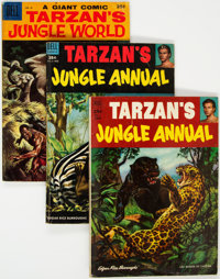 Tarzan-Related Dell Giants Group of 10 (Dell, 1952-61) Condition: Average VG.... (Total: 10 Comic Books)