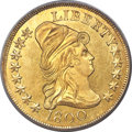 Early Eagles, 1800 $10 BD-1, High R.3, MS61 PCGS. CAC....