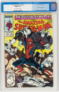 Modern Age (1980-Present):Superhero, The Amazing Spider-Man #322 (Marvel, 1989) CGC NM/MT 9.8 Off-white to white pages....