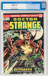 Doctor Strange #2 (Marvel, 1974) CGC NM/MT 9.8 Off-white to white pages
