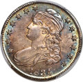 1834 50C Large Date, Small Letters, O-106, R.1, MS66 PCGS. CAC....(PCGS# 39910)