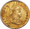 Early Quarter Eagles, 1802/1 $2 1/2 BD-1, R.4, MS62 PCGS. CAC....