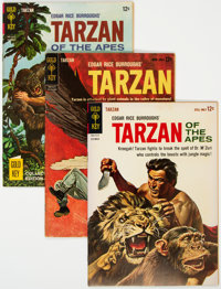 Tarzan Group of 11 (Dell, 1954-61) Condition: Average VF.... (Total: 11 Comic Books)