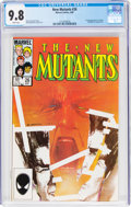 Modern Age (1980-Present):Superhero, The New Mutants #26 (Marvel, 1985) CGC NM/MT 9.8 White pages....