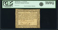 Colonial Notes:Maryland, Maryland December 7, 1775 $1/6 Fr. MD-80 PCGS Choice About New 55PPQ.. ...