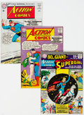 Silver Age (1956-1969):Superhero, Action Comics Group of 10 (DC, 1958-67) Condition: Average FN.... (Total: 10 Comic Books)