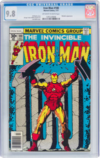 Iron Man #100 (Marvel, 1977) CGC NM/MT 9.8 Off-white to white pages