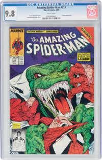 The Amazing Spider-Man #313 (Marvel, 1989) CGC NM/MT 9.8 White pages