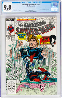 The Amazing Spider-Man #315 (Marvel, 1989) CGC NM/MT 9.8 White pages