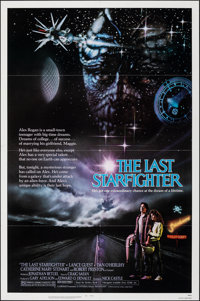 """The Last Starfighter (Universal, 1984). Folded, Very Fine+. One Sheet (27"""" X 41""""). Science Fiction"""