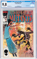 Modern Age (1980-Present):Superhero, The New Mutants #27 (Marvel, 1985) CGC NM/MT 9.8 White pages....