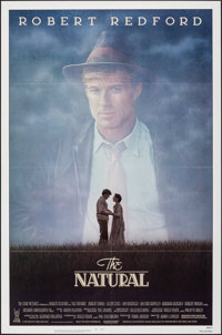 "The Natural (Tri-Star, 1984). Folded, Very Fine+. One Sheet (27"" X 41""). Sports"