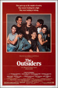 """Movie Posters:Crime, The Outsiders (Warner Bros., 1982). Folded, Very Fine. One Sheet (27"""" X 41"""") Style A. Crime.. ..."""