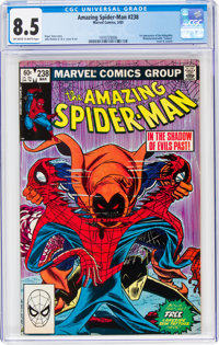 The Amazing Spider-Man #238 (Marvel, 1983) CGC VF+ 8.5 Off-white to white pages
