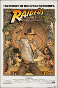 """Movie Posters:Adventure, Raiders of the Lost Ark (Paramount, R-1982). Folded, Fine/Very Fine. One Sheet (27"""" X 41""""). Richard Amsel Artwork. Ad..."""