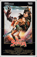 """Movie Posters:Action, Red Sonja (MGM, 1985). Folded, Fine+. One Sheet (27"""" X 41"""") Renato Casaro Artwork. Action.. ..."""