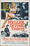 "Movie Posters:Western, Heller in Pink Tights (Paramount, 1960). Folded, Fine/Very Fine. One Sheet (27"" X 41""). Western.. ..."