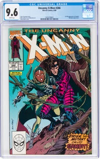 X-Men #266 (Marvel, 1990) CGC NM+ 9.6 White pages