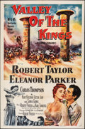 """Movie Posters:Adventure, Valley of the Kings & Other Lot (MGM, 1954). Folded, Overall: Very Fine-. One Sheet (27"""" X 41"""") & Three Sheet (41"""" X 80""""). A... (Total: 2 Items)"""