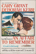 """Movie Posters:Romance, An Affair to Remember (20th Century Fox, 1957). Folded, Fine/Very Fine. One Sheet (27"""" X 41""""). Romance.. ..."""