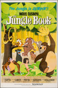 "Movie Posters:Animation, The Jungle Book (Buena Vista, 1967). Folded, Very Fine. One Sheet (27"" X 41""). Paul Wenzel Artwork. Animation.. ..."