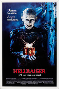 "Hellraiser & Other Lot (New World, 1987). Rolled, Very Fine. One Sheets (2) (27"" X 41"") SS. Horror..."