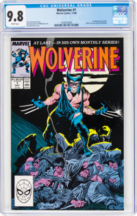 Wolverine #1 (Marvel, 1988) CGC NM/MT 9.8 White pages