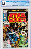 Bronze Age (1970-1979):Science Fiction, Star Wars #9 (Marvel, 1978) CGC NM/MT 9.8 White pages....