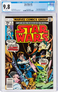 Star Wars #9 (Marvel, 1978) CGC NM/MT 9.8 White pages