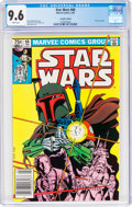 Modern Age (1980-Present):Science Fiction, Star Wars #68 Canadian Edition (Marvel, 1983) CGC NM+ 9.6 White pages....