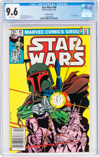 Star Wars #68 Canadian Edition (Marvel, 1983) CGC NM+ 9.6 White pages