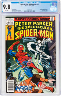 Spectacular Spider-Man #22 (Marvel, 1978) CGC NM/MT 9.8 White pages