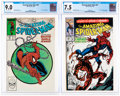 Modern Age (1980-Present):Superhero, The Amazing Spider-Man #301 and 361 CGC-Graded Group (Marvel, 1988-92).... (Total: 2 )