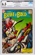 Silver Age (1956-1969):Adventure, The Brave and the Bold #18 Murphy Anderson File Copy (DC, 1958) CGC FN+ 6.5 Off-white to white pages....