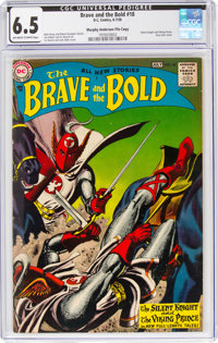 The Brave and the Bold #18 Murphy Anderson File Copy (DC, 1958) CGC FN+ 6.5 Off-white to white pages