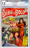Silver Age (1956-1969):Adventure, The Brave and the Bold #16 Murphy Anderson File Copy (DC, 1958) CGC VF- 7.5 Off-white to white pages....